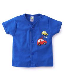 Cucumber Vests Car Print - Royal Blue