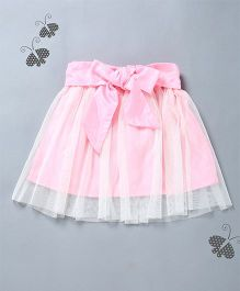Many Frocks & Box Pleated Design Skirt - Pink