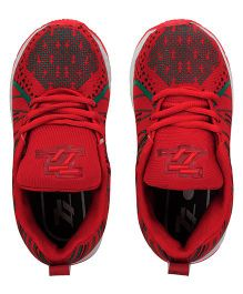 77 Seventy Seven Stylish Kids Sports Shoes - Red