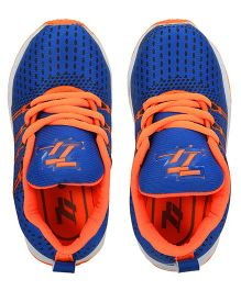 77 Seventy Seven Trendy Kids Sports Shoes - Blue & Orange