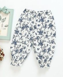 Pre Order - Awabox Printed Lounge Pants - Blue