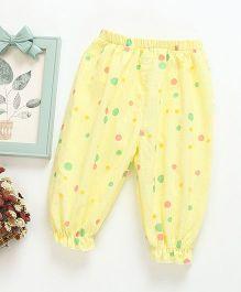 Pre Order - Awabox Printed Lounge Pants - Yellow