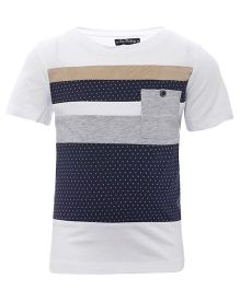 One Friday Printed Round Neck T-Shirt - Off White