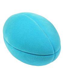 Rubbabu - Football Natural Foam Blue