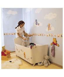 Decofun Winnie The Pooh Wall Stickers - Multicolor