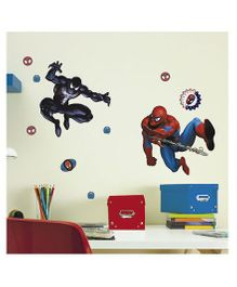 Decofun Spiderman Wall Stickers Medium - Blue Red