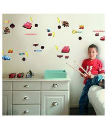 Decofun Cars Wall Stickers Small - Multicolor