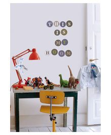 Decofun Lab Maxi Wall Stickers Extra Large - Multicolor