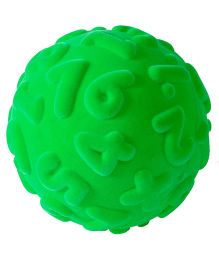 Rubbabu Numerals Ball Natural Foam - 10 cm