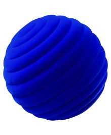 Rubbabu Natural Rubber Foam Ringlet Ball Blue - 10 cn