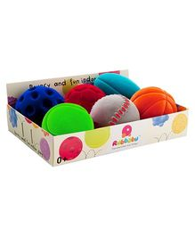 Rubbabu Sports Ball Assortment of 6