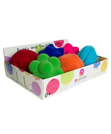 Rubbabu Funky Balls Pack of 6 - Multi Color