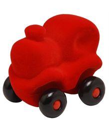 Rubbabu Natural Rubber Foam Choo Choo Train - Red