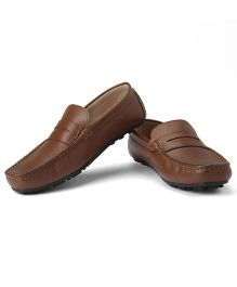 Careeno Carmelo Classic Loafers - Brown