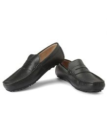 Careeno Carmelo Classic Loafers - Black