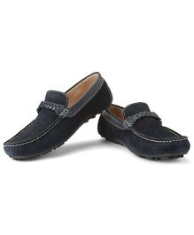 Careeno Cecilio Loafers - Navy Blue