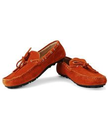 Careeno Chiaro Loafers - Orange