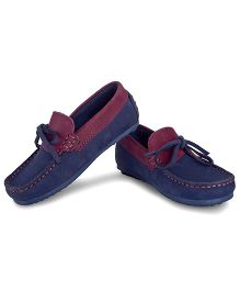 Careeno Stylish & Durable Loafers - Navy Blue