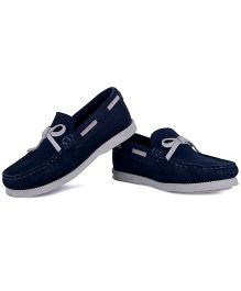 Careeno Classic Loafers - Navy Blue