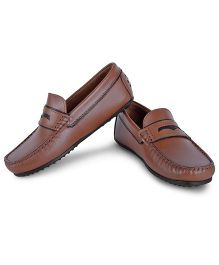 Careeno Slip On Loafers - Brown