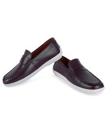 Careeno Slip On Smart Loafers - Brown