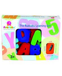 Rubbabu Uppercase Alphabets Small  2.5 Inch