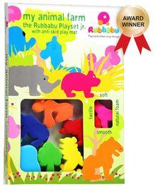 Rubbabu - My Animal Farm Playset