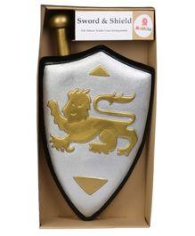 Rubbabu - Medieval Knight, Sword and Shield