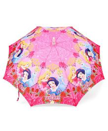 Disney Princess LED Umbrella - Pink