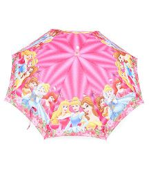 Disney Princess Printed LED Umbrella - Pink