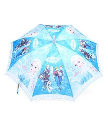 Disney Frozen LED Umbrella - Blue White