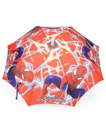 Marvel Spider Man LED Umbrella - Red Blue
