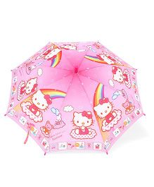 Hello Kitty Print Umbrella - Light Pink