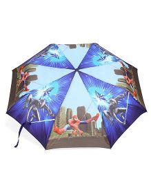 Marvel Spider Man Umbrella - Blue