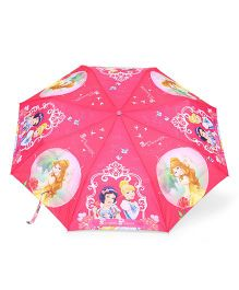 Disney Princess Kids Umbrella With Whistle - Pink