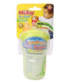 Nuby Insulated Soft Sipper Green - 210 ml