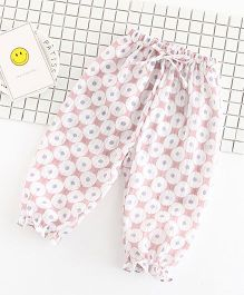 Pre Order - Awabox Printed Lounge Pants - Pink
