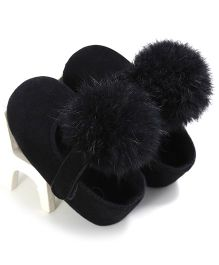 Wow Kiddos Pram Crib Bebe Booties - Black