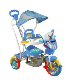 Sunbaby Rock On Motor Bike Tricycle Blue