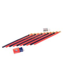 Faber Castell Pencil Ole Gold Super Dark - Pack Of 10