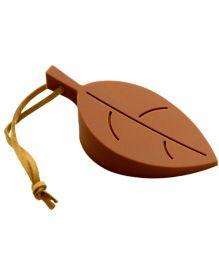 EZ Life Silicon Leaf Door Stopper - Brown