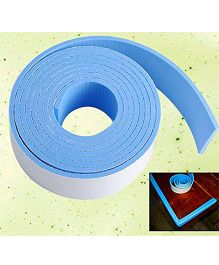 Ez Life Foam Child Safety Adhesive Corner Guard Tape - Blue