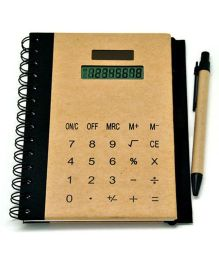 Ez Life Calculator Diary And Planner - Brown