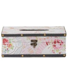 EZ Life Vintage Tissue Box Holder - Light Pink
