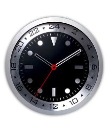 EZ Life Motor Sports Wall Clock - Black & Silver