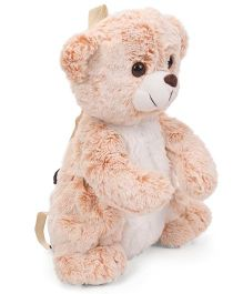 Starwalk Teddy Bear Backpack Peach - 15 inch