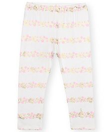 Barbie Floral Leggings - Off White