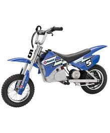 Razor Dirt Rocket MX 350 Battery Operated Motor Bike - Blue