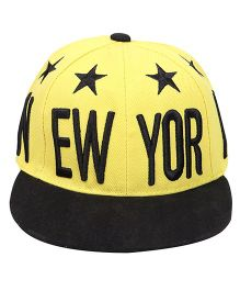 Little Kangaroos Summer Cap New York Emroidery - Yellow