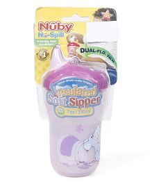 Nuby Insulated Soft Sipper Pink - 210 ml